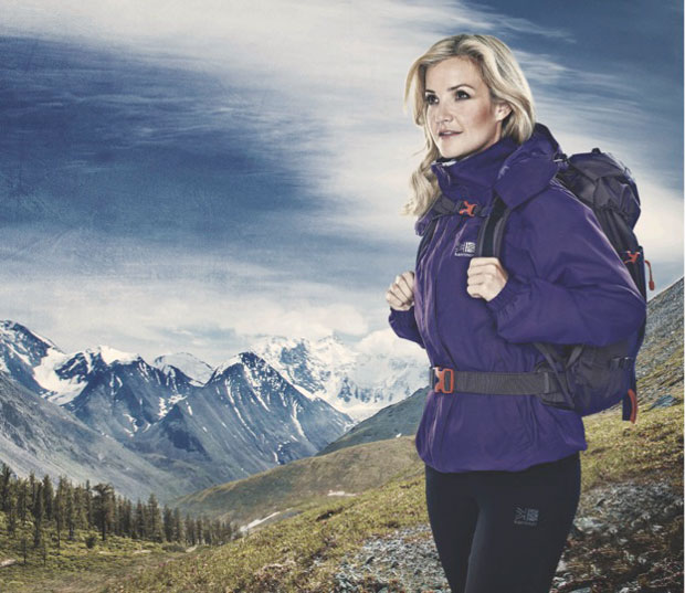 Karrimor announces signing of TV presenter and adventure enhusiast Helen Skelton