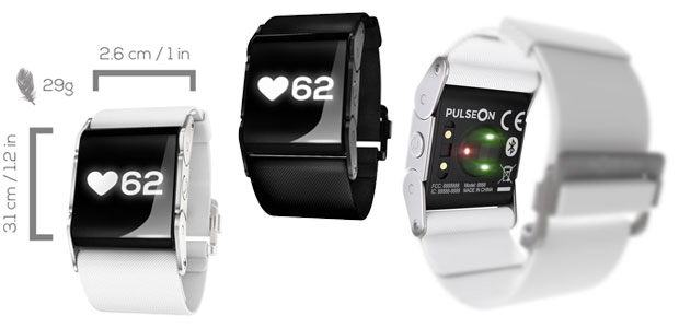 PulseOn wrist device & application