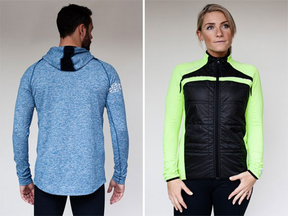 Award-winning Crewroom unveils its new winter range at the Running Show 2014