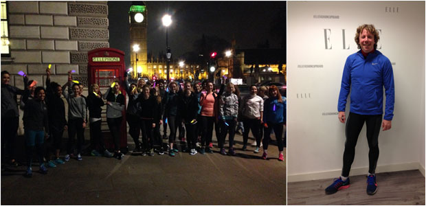 ELLE Magazine - The launch of #ELLEfit Run Club