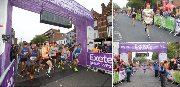 Exeter's Great West Run - October 18, 2015