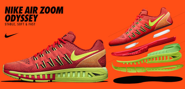 size 40 d11c4 7d64d Stable, soft and fast: The all new Nike Air Zoom Odyssey ...