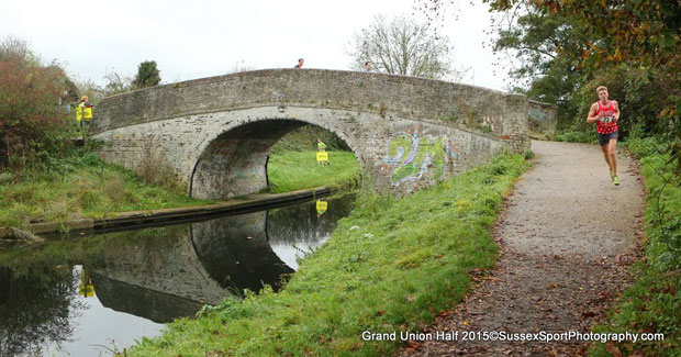 Grand Union Canal Half Marathon - Sunday, November 8, 2015