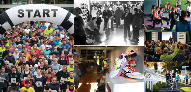 The 2014 Running & Endurance Sport Show - Sandown Park, November 22 & 23, 2014
