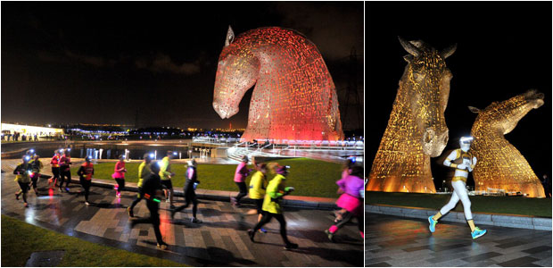 Supernova Run at the Kelpies - November 7, 2015
