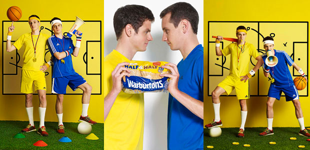 Brownlee brothers join Warburtons as brand ambassadors of new Half & Half range